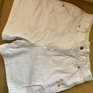 Vintage Lee White shorts